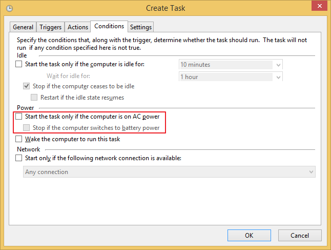 Run 4t Tray Minimizer with administrative rights at Windows